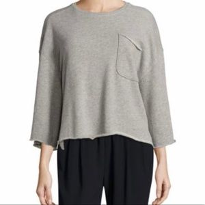 ATM gray sweater